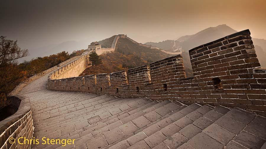 Tian Yi acupunctuur te Huissen: de Chinese muur is een symbool voor de eeuwenoude Chinese cultuur waartoe ook acupunctuur behoort
