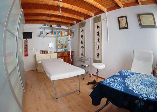 Praktijk ruimte van Tian Yi acupunctuur te Huissen